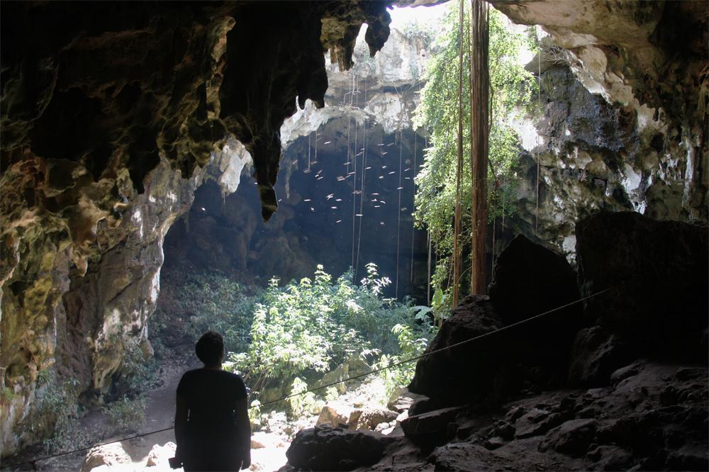 The entrance to Grutas de Calcehtok
