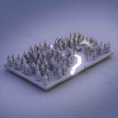 #Deserted #Forest